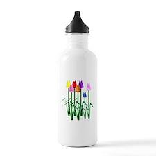 Lots O' Tulips Water Bottle