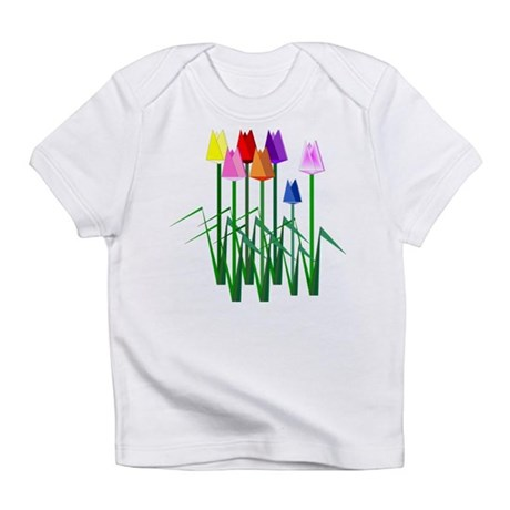 Lots O' Tulips Infant T-Shirt