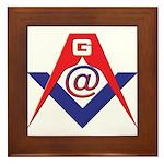 Web Savvy Masons Framed Tile