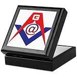 Web Savvy Masons Keepsake Box