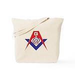 Web Savvy Masons Tote Bag