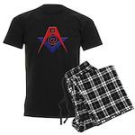 Web Savvy Masons Men's Dark Pajamas