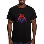 Web Savvy Masons Men's Fitted T-Shirt (dark)
