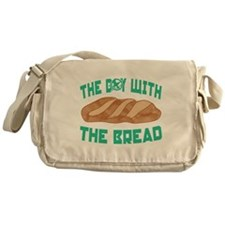The Boy With The Bread Messenger Bag