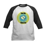 Say No Kids Baseball Jersey