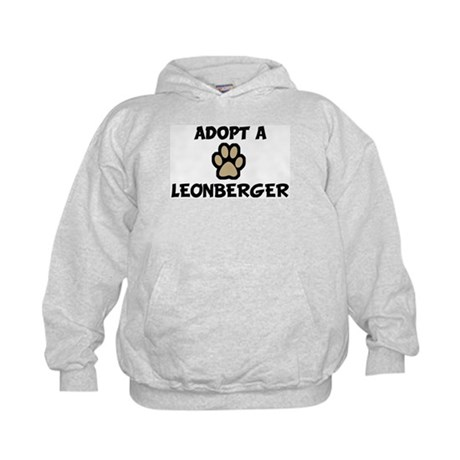 Adopt a LEONBERGER Kids Hoodie