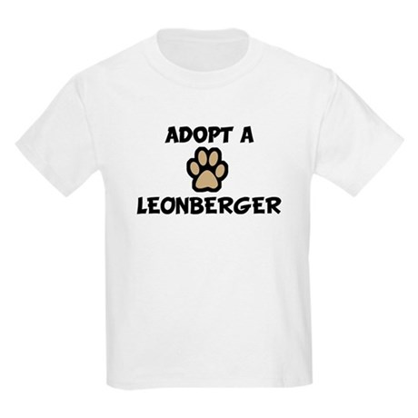 Adopt a LEONBERGER Kids T-Shirt