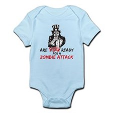 Zombie Attack Infant Bodysuit