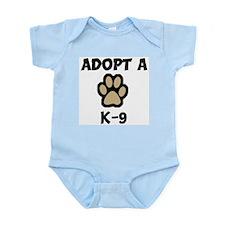 Adopt a K-9 Infant Creeper