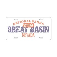 Great Basin National Park NV Aluminum License Plat