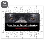 Cane Corso Security Service Puzzle