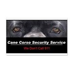 Cane Corso Security Service 22x14 Wall Peel