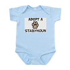 Adopt a STABYHOUN Infant Creeper