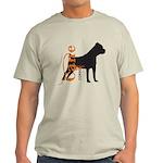 Grunge Cane Corso Silhouette Light T-Shirt