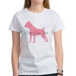 Diamonds Cane Corso Diva Women's T-Shirt