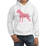 Diamonds Cane Corso Diva Hooded Sweatshirt