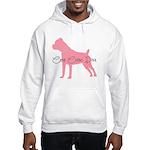 Diamonds Cane Corso Diva Hooded Sweatshirt