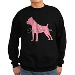 Diamonds Cane Corso Diva Sweatshirt (dark)