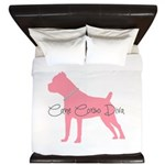 Diamonds Cane Corso Diva King Duvet