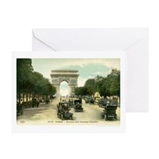 Spring in Paris Greeting Card
