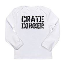 Crate Digger Long Sleeve Infant T-Shirt