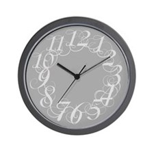 Unique Scribbl Wall Clock