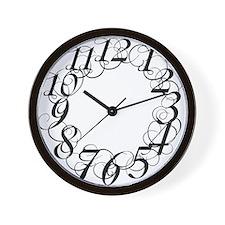 Cute Scribbl Wall Clock