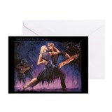 Seduction by Strings Greeting Cards (Pk of 10)