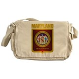 """Maryland Gold"" Messenger Bag"