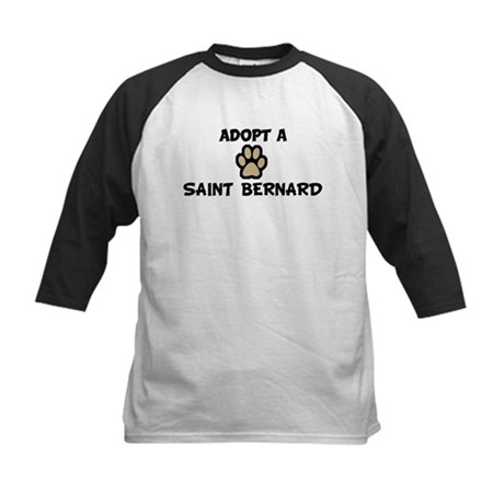 Adopt a SAINT BERNARD Kids Baseball Jersey