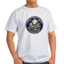 US Navy Seabees We Fight Gold T-Shirt