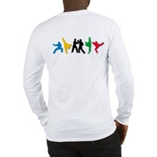 Tae Kwon Do Kicks Long Sleeve T-Shirt