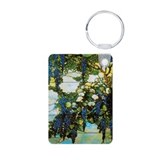 Wistaria by Tiffany Aluminum Photo Keychain