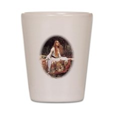 Lady of Shalott Shot Glass