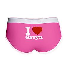 I love Gavyn Women's Boy Brief