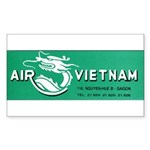 Air Vietnam Sticker (Rectangle 50 pk)