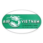 Air Vietnam Sticker (Oval 50 pk)