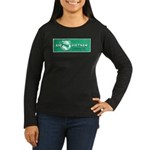 Air Vietnam Women's Long Sleeve Dark T-Shirt