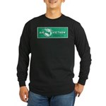 Air Vietnam Long Sleeve Dark T-Shirt