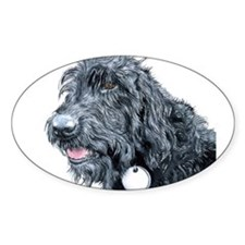 Black Labradoodle #3 Decal