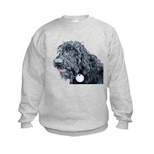 Black Labradoodle #3 Jumper Sweater