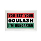Funny Hungarian Goulash Rectangle Magnet