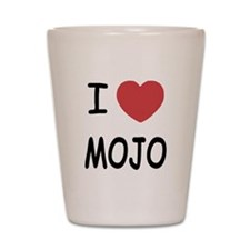 I heart mojo Shot Glass