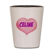 celine heart Shot Glass