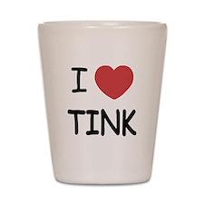 I heart tink Shot Glass