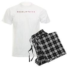 Deadlift Diva - Brown & Pink pajamas