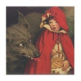 Smith's Red Riding Hood Tile Coaster