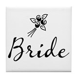Bride (II) Tile Coaster