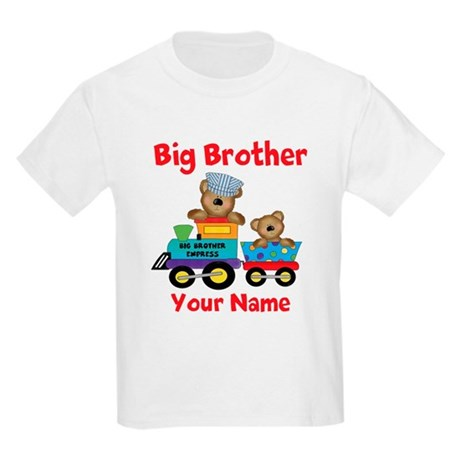 Big Brother Train Kids Light T-Shirt