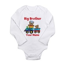 Big Brother Train Long Sleeve Infant Bodysuit